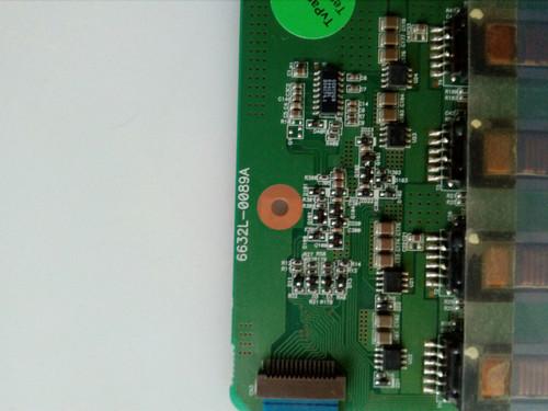 """TV LCD 25 """", OLEVIA, 255FHD-T11, INVERTER BOARD, 6632L-0089A, KUBNKM090C"""
