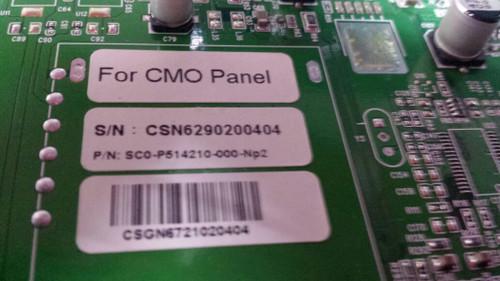 "TV LCD 37"", OLEVIA ,327-S11, MAIN BOARD , SC0-P514210-000-NP2 ,"