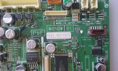 """TV PLASMA 50"""" ,FUJISTU, P50XTA51US, MAIN BOARD, M05DW, YKC18V-0"""