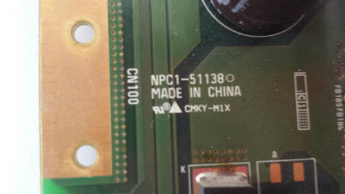 PIONEER PDP-42A3HD SUSTAIN BOARD PKG42H5G1 / NPC1-51138