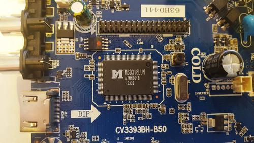 Sansui SLED5515W Main board / Power Supply board CV3393BH-B50 / 63H0441