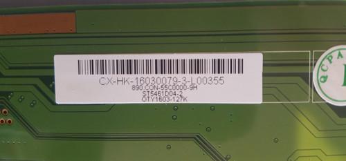 SANSUI SLED5515W TCON BOARD HK-Z.CX4750V41 / 890.CON-55C0000-9H