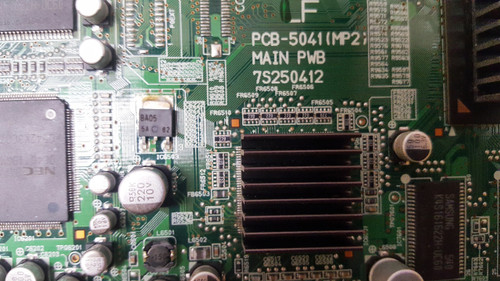 PIONEER PDP6100HD MAIN BOARD PCB-5041(MP2) / 7S250412 / 7J9M-35YEA3