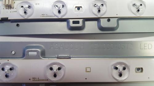 Emerson LF501EM5F LED Light Strips in metal bars set of 6 UDULED0GS044 & UDULED0GS045