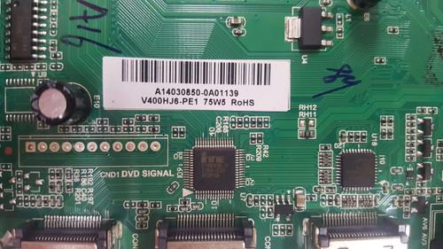 oCOSMO E40 CE4001-A-CNFVC8GE MAIN BOARD / POWER SUPPLY BOARD TP.RSC8.P7A / A14030850