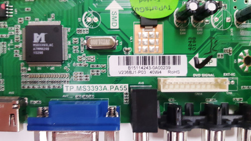 POLAROID 24GSD3000SA MAIN BOARD TP.MS3393A.PA55 / B15114243