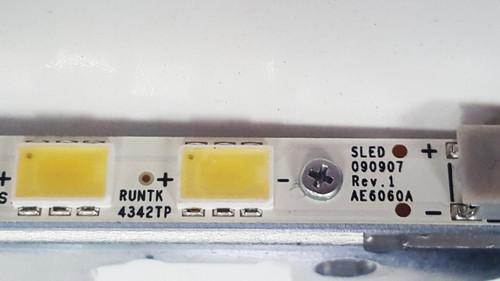 SONY KDL-60EX700 LED LIGHT STRIP BAR RUNTK4342TP
