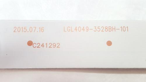 AVERA 40EQX10 LED LIGHT STRIPS SET OF 4 LGL4049-3528BH-101 / 160812