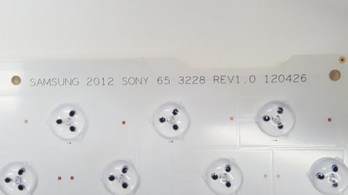 SONY XBR-65HX950 LED LIGHT STRIP SHEET 120426