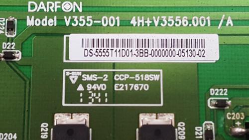 SANYO DP55D33 LED DRIVER 4H+V3556.001 / 5555T11D01