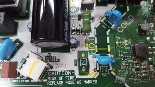 Sanyo FW32D06F Main board / Power Supply board BA6AFBG02011 / A6AFFUT