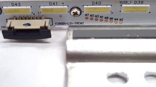 Seiki SE39UY04 LED Light Strip in metal casing V390D1-LS1-TREM2