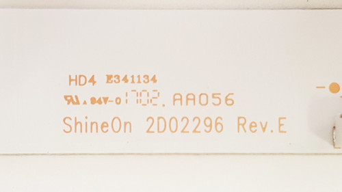 Insignia NS-32D220NA18 LED Light strips set of 3 2D02296