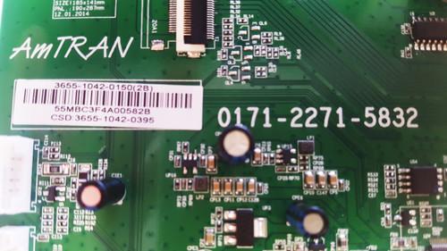 JVC EM55RF5 Main board 0171-2271-5832 / 3655-1042-0150