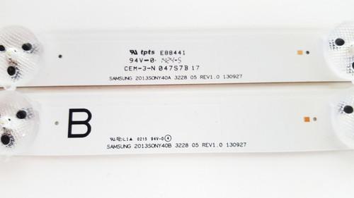 Sony KDL-40W600B Complete Set LED Light Strips SAMSUNG 2013SONY40A/B 3228 05 REV1.0 130927