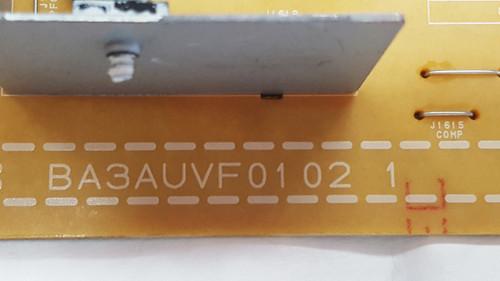 Emerson LF501EM4A Power Supply board BA3AUVF01021 / A3AUVMPW