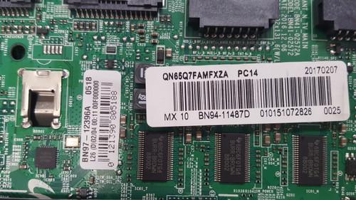 Samsung QN65Q7FAMF Main board BN41-02572A / BN97-12396A  / BN94-11487D