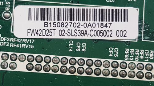 Sanyo FW42D25T Main board & Tcon board set TP.MS3393T.PB79 / 02-SLS39A-C005002 & 6870C-0469A / 6871L-3398E VER: LHC