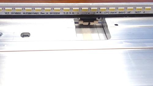 Sony KDL-60W850B LED Light Strip in metal casing YLT SYV6031 00.P2B01GA01 / A1992378A