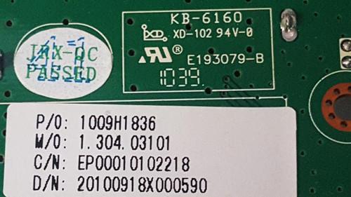Auria EQ3288 Main board & Tcon board Set 1009H1836 & 5537T04C42