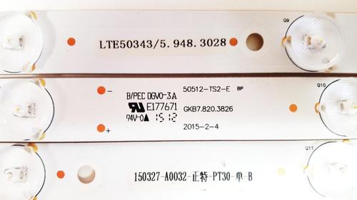Westinghouse LED Light Strips set of 5 50512-TS2-E / GKB7.820.3826 / LTE50343/5.948.3028