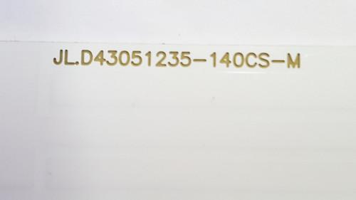 Hitachi LE43M4S9 LED Light Strips set of 8 JL.D43051235-140CS-M