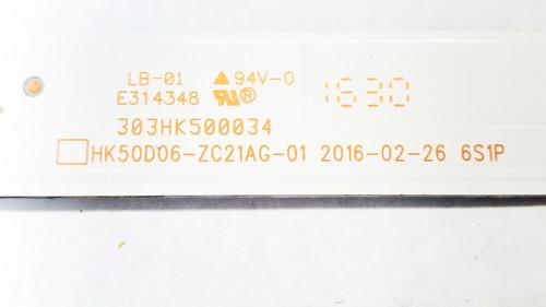 Quasar SQ5002M LED Light strips set of 10 HK50D06-ZC21AG-01 / 303HK500034