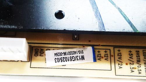 Haier 55D3550 Power Supply board TV5001-ZC02-01 / G51025