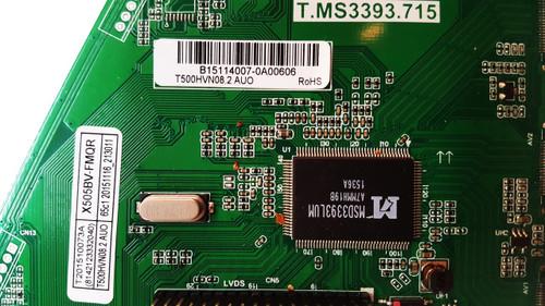 Sceptre X505BV-FMQ Main board T.MS3393.715 / B15114007