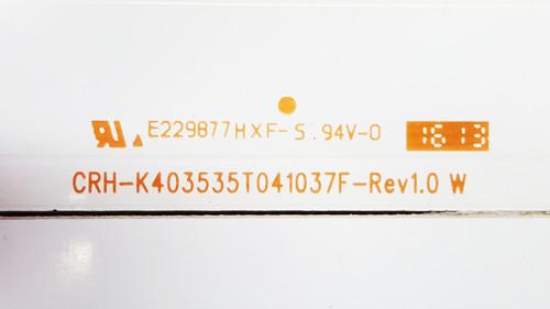 Sceptre X405BV-FMQR LED Light Strips set of 4 CRH-K403535T041037F