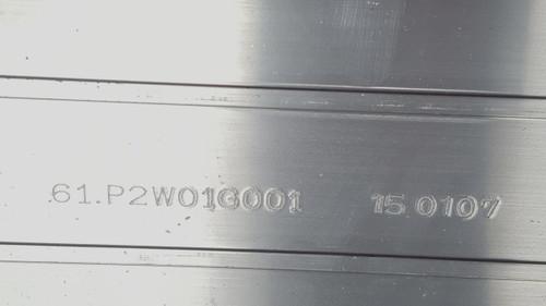 SONY XBR-65X800B LED Light Strips in metal casing 61.P2W01G001 / 150107