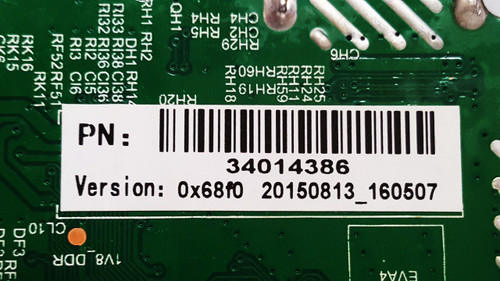 Element ELEFW328B Main board / Power Supply board TP.MS3393.PB818 / 34014386