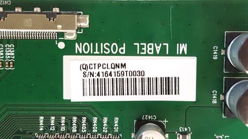 NEC C981Q Monitor FRC board 715G9183-T0D-000-005K / CTPCLQNM