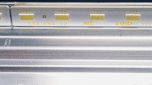 Sony KDL-55W700B LED Light Strips in metal casing 74.55T20.001-0-FC1