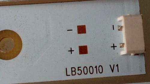 Hitachi LE50H508 LED Light Strips Complete set of 12 LB50010 / LB-C500F13-E2-L-G1-LD5 & LB-C500F13-E2-L-G1-LD6