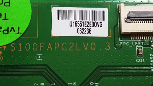 Seiki LC32G82 Tcon board S100FAPC2LV0.3 / LJ94-16551E