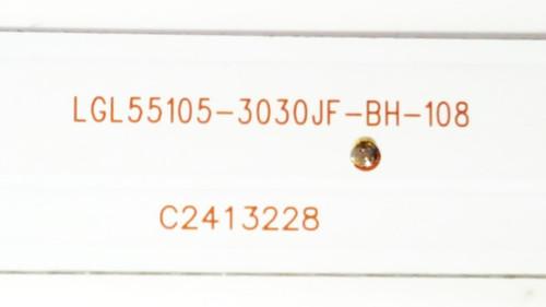 Avera 55EQX10 LED Light strips complete set of 10 LGL55105-3030JF-BH-108