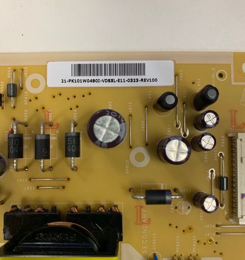 Toshiba 32L2400U Power Supply board PSLL850402P / PK101W0490I