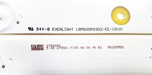 Hisense 50H7GB1 LED Light Strips set of 11 LBM500P0302-EE-1S / 1150664