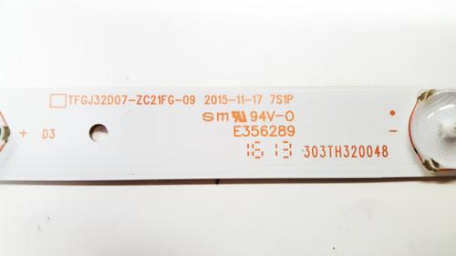 Seiki SE32HY10 LED Light Strips set of 3 TFGJ32D07-ZC21FG / 303TH320048