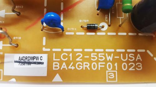 Magnavox 55MV314X/F7 Power Supply board BA4GR0F01023 / A4DRDMPW
