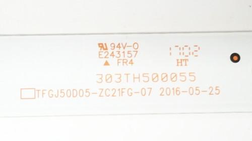 Westinghouse WD50UT4490 LED Light Strips set of 10 303TH500055 / TFGJ50D05-ZC21FG-07