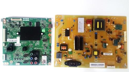 Toshiba 50L3400U Main board & Power Supply board set 461C7751L01 & PK101W480I