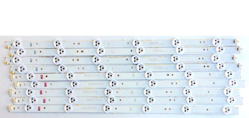 Hitachi LE49S508 LED Light Strips Complete set of 10 SVJ490A06 / 140605