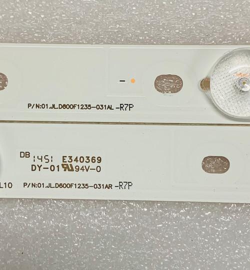 Allegra ALG-60LE210 LED Light strips set of 12 01.JL.D600F1235-031AR