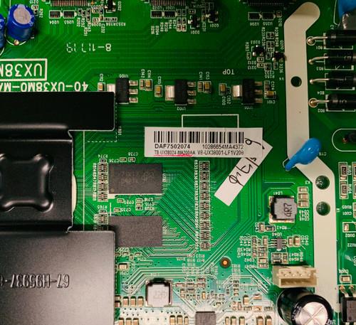 Insignia NS-32DR310NA17 Main board 40-UX38M0-MAH2HG / T8-UX38024-MA200AA