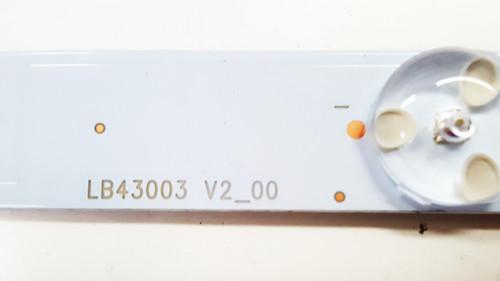 Viewsonic CDE4302 LED Light Strips Complete set of 5 LB43003_V0_02