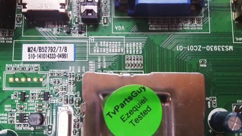 Haier 40E3500 Main board & Power Supply board Kit MS33930-ZC01-01 & 303C3902064