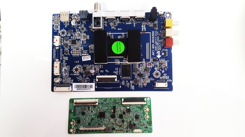 Hitachi 50R5 Main board & Tcon board set JUC7.820.00163505 & JUC7.820.00157618 / 999M6QX0