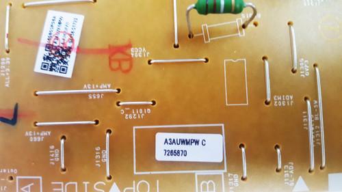 Emerson LF501EM4A Power Supply board BA3AUVF01021 / A3AUWMPW Chipped Corner